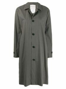 Stephan Schneider button shirt coat - Green