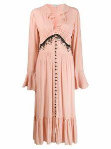 Giacobino bead embellished dress - Pink