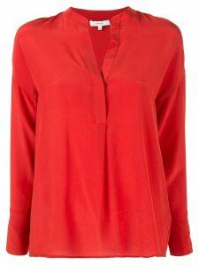 Vince v-neck blouse - Red