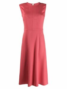 Marni sleeveless flared dress - Pink
