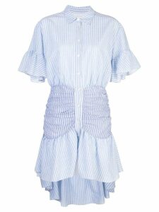 Cinq A Sept striped Asher dress - Blue