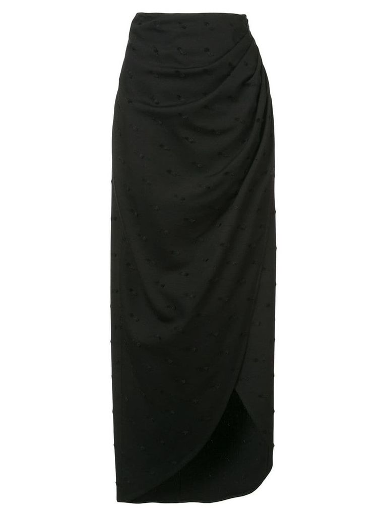 Kimora Lee Simmons Gardenia skirt - Black