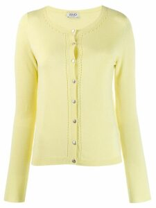 Liu Jo embroidered cardigan - Yellow