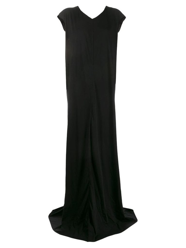 Rick Owens loose-fit maxi dress - Black