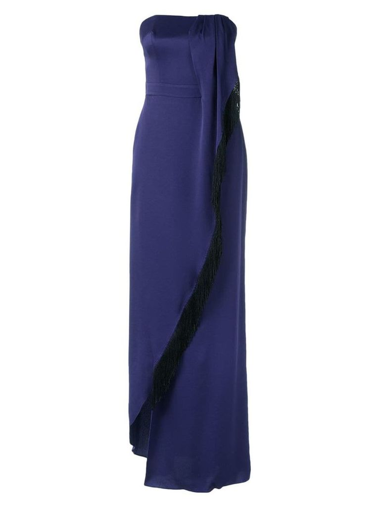 Tufi Duek strapless gown - Blue