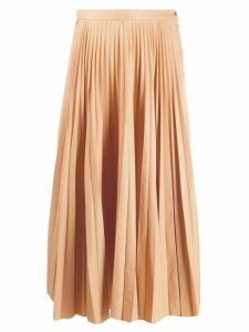 Nehera Savy pleated midi skirt - Neutrals