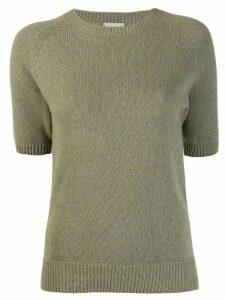 Margaret Howell knitted sweatshirt - Green
