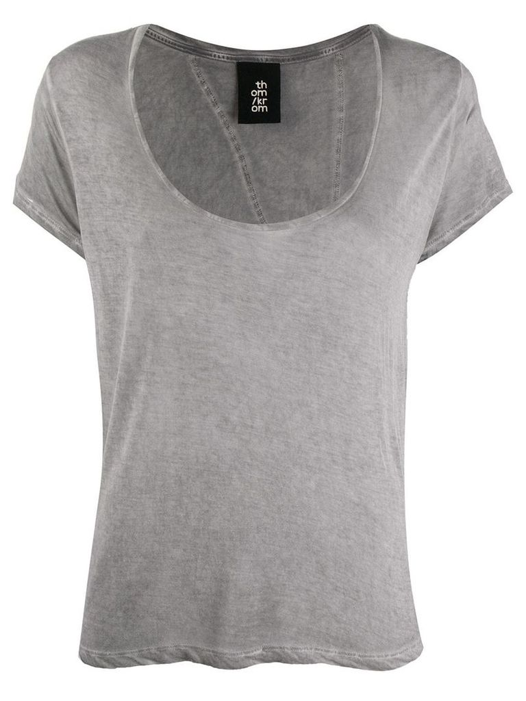 Thom Krom relaxed-fit T-shirt - Grey