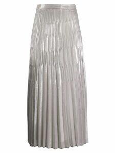 Lorena Antoniazzi pleated skirt - Silver
