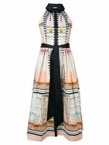 Temperley London Obelisk dress - Neutrals