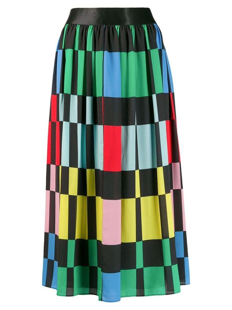 Alice+Olivia block colour skirt - Black