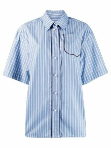 Walk Of Shame striped shirt - Blue