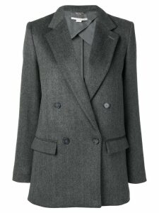 Stella McCartney notched lapel blazer jacket - Grey