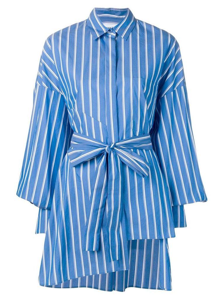Enföld striped tunic shirt - Blue