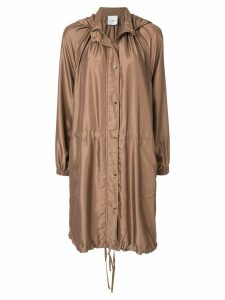 Agnona Caban coat - Brown