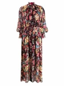 Zimmermann floral print dress - Red