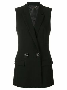 Philipp Plein double breasted waistcoat - Black