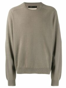 Frenckenberger boyfriend sweatshirt - Neutrals
