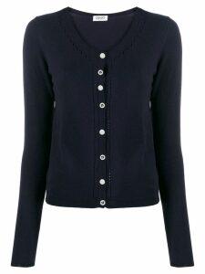 Liu Jo fitted classic cardigan - Blue