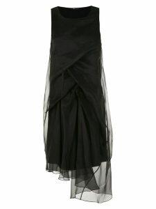 Uma Raquel Davidowicz Loren midi dress - Black