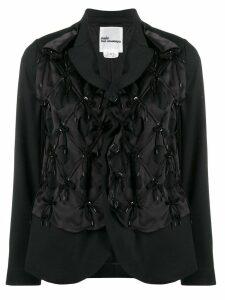 Comme Des Garçons Noir Kei Ninomiya embellished blazer - Black