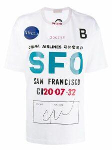 MRZ SFO graphic T-shirt - White