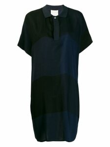 Stephan Schneider Mystic striped polo dress - Black