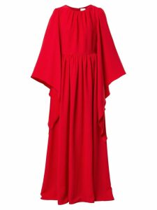Ingie Paris draped caftan maxi dress - Red