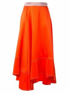 Roksanda Shona asymmetric skirt - ORANGE