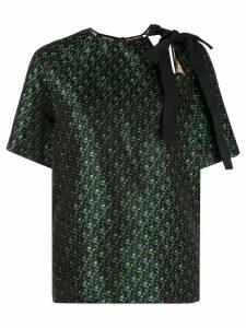 Rochas bow detail blouse - Black