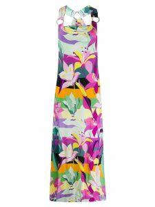 Just Cavalli floral maxi dress - Pink