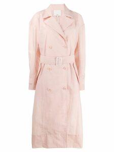 Tibi classic raincoat - Pink