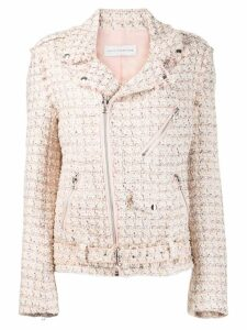 Faith Connexion tweed zip jacket - Pink