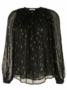 FRAME Vintage Peasant blouse - Black