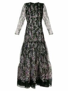 Ingie Paris floral print dress - Black