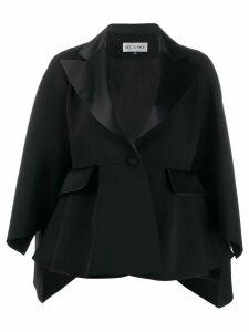 Dice Kayek tailored slit sleeve blazer - Black