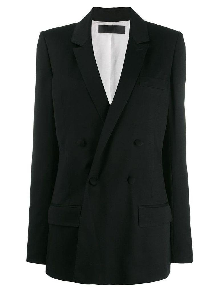 Haider Ackermann double breasted blazer - Black