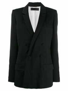 Haider Ackermann double breasted blazer - Black