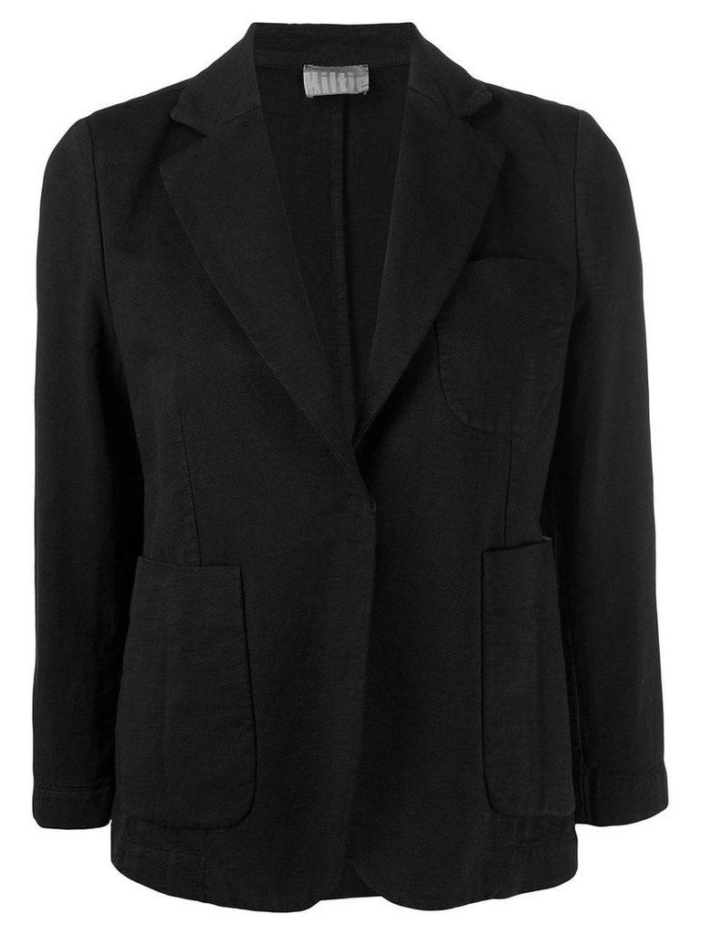 Kiltie tailored blazer jacket - Black