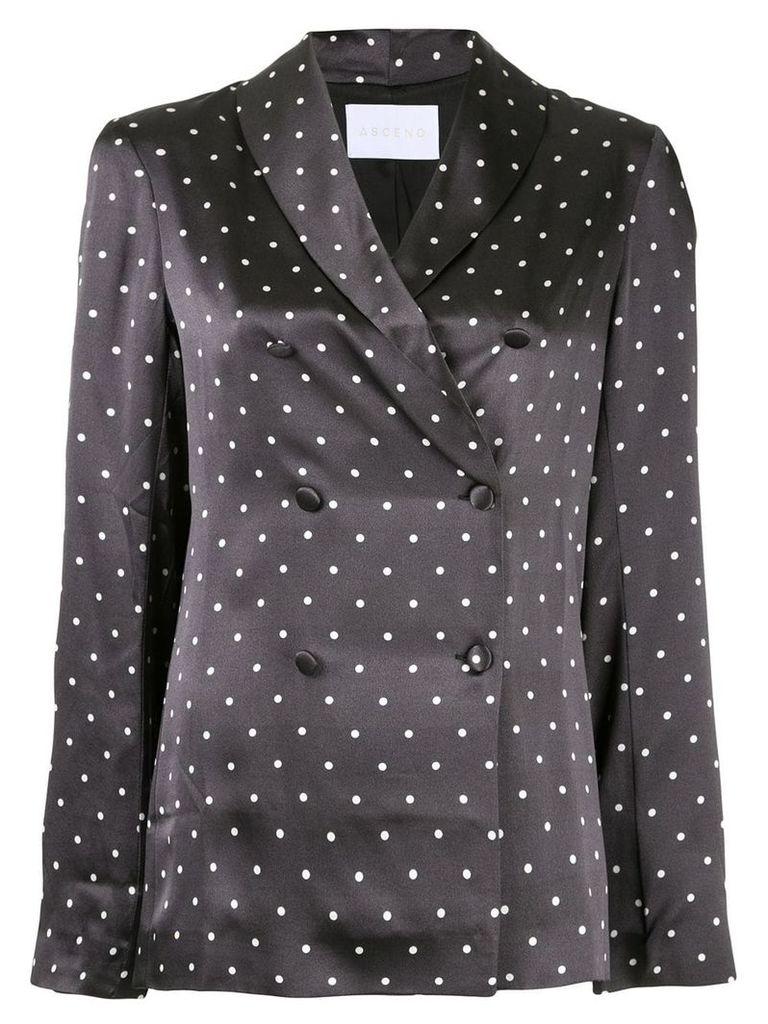 Asceno polka-dot print blouse - Black