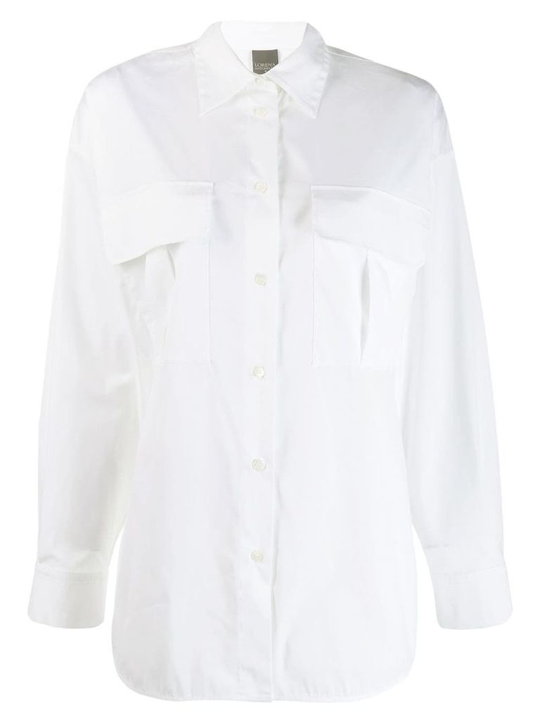 Lorena Antoniazzi oversized shirt - White