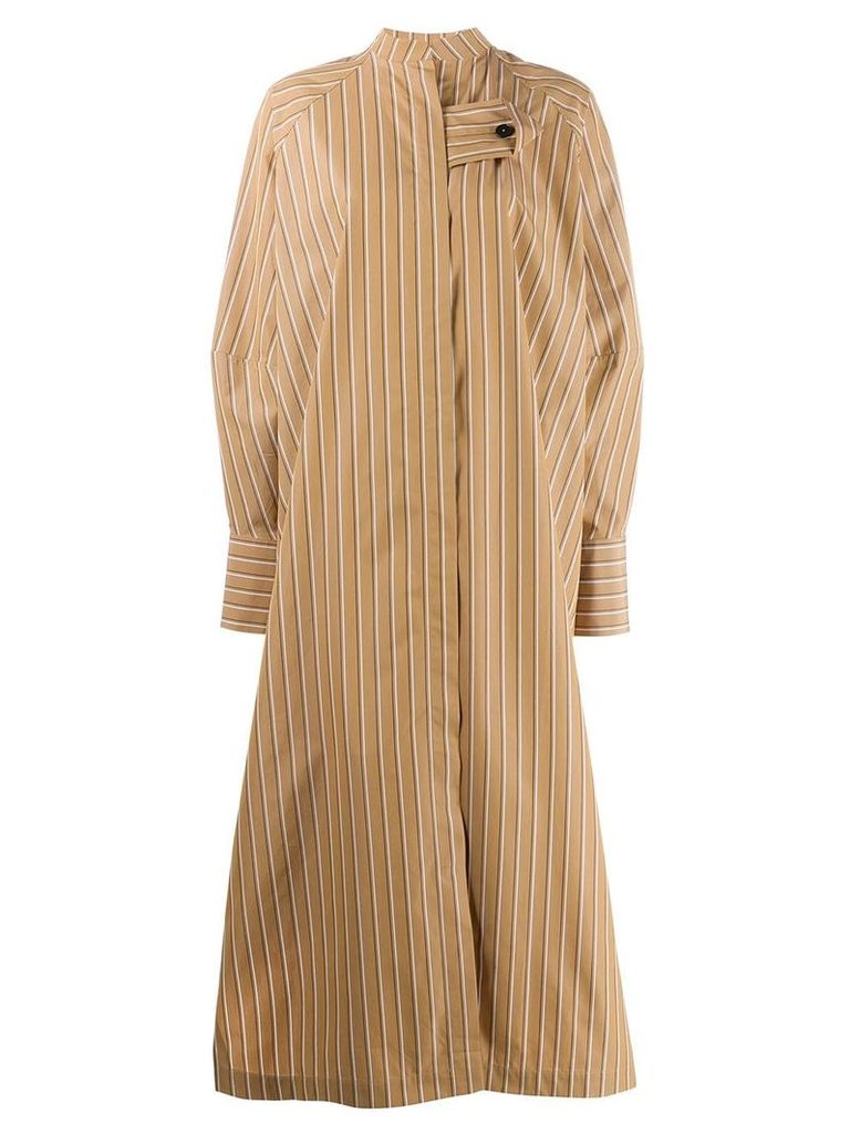 Jil Sander oversized shirt dress - Neutrals
