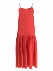 Maryam Nassir Zadeh Oracle slip dress - Red