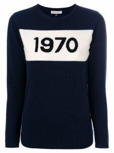 Bella Freud intarsia-knit jumper - Blue