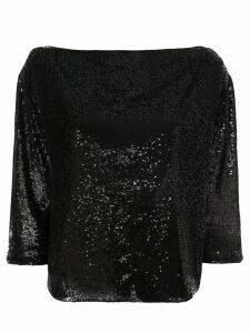 A.L.C. sequin embellished blouse - Black