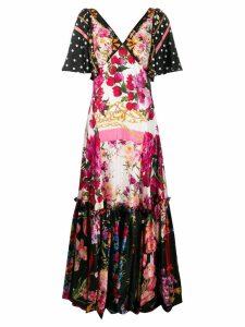 Dolce & Gabbana floral maxi dress - Pink