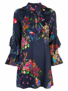 Cynthia Rowley Roseland printed shirt dress - Multicolour