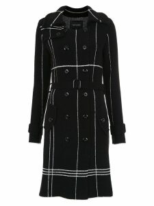 Tufi Duek knitted coat - Black