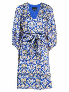 Cynthia Rowley Daley Aline midi dress - Blue