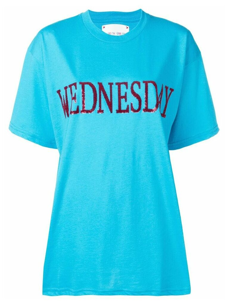 Alberta Ferretti Wednesday T-shirt - Blue